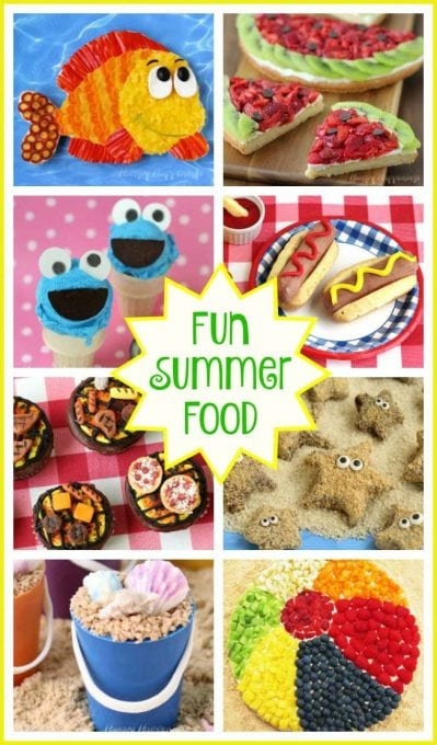 This summer beat the heat by spending time in the kitchen creating cute food for a party or an afternoon snack. See over 100 Summer Fun Recipes that will make any pool party, summer picnic, or lazy afternoon more exciting.