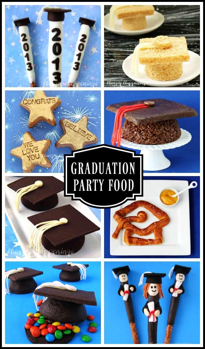 Congratulate your graduate on his or her success by creating some graduation party food. These recipes will elevate any party to the head of the class.