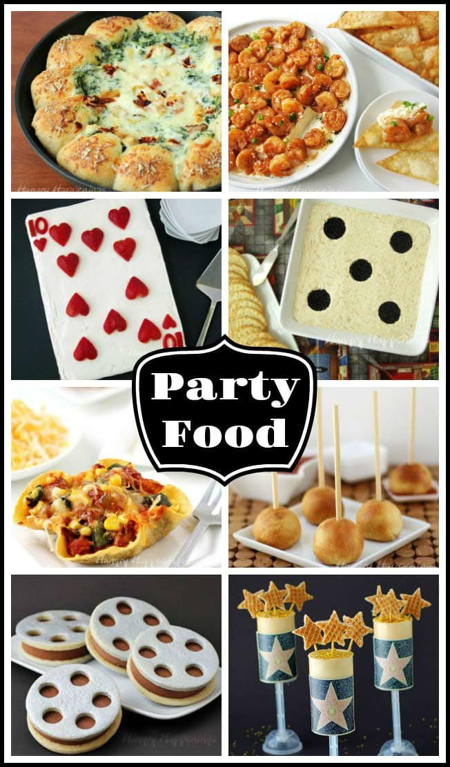 If you are hosting a party and want to make it extra special be sure to check out these fun party recipes. You'll find fun appetizers that can be made for a weekend get together, a game night, or special event like an Academy Award party.