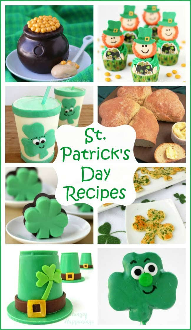 Fun St. Patrick's Day Recipes and Food Crafts