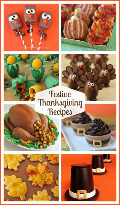 Dress up your holiday table with some cute Thanksgiving food. Your family will adore these sweet and savory Thanksgiving recipes.