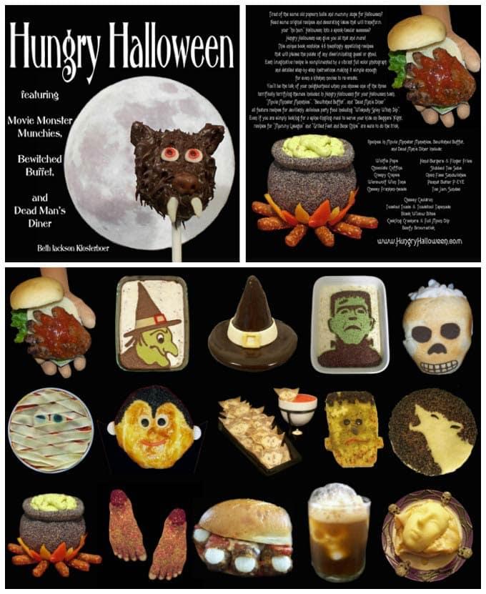 Hungry Halloween Recipe Book featuring fun Halloween food.