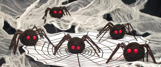 Oreo Truffles Spiders