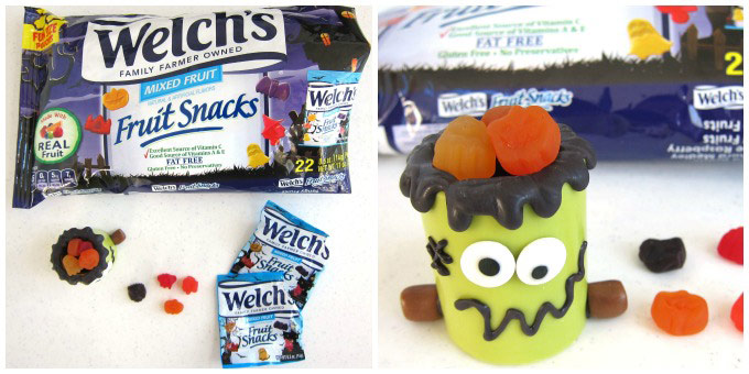 Welch's Halloween Fruit Snacks in Frankenstein Snack Cups