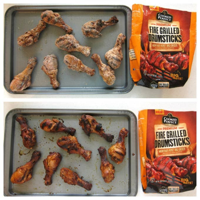 Cooked Perfect Fire Grilled Chicken Drumsticks