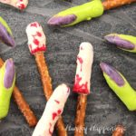 Creepy Pretzel Fingers For Halloween