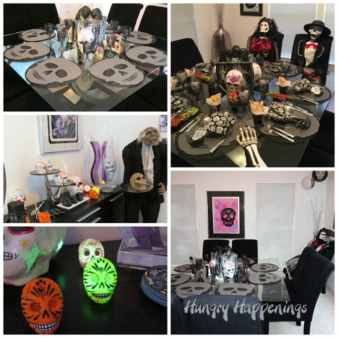 Day of the Dead Dinner Decorations
