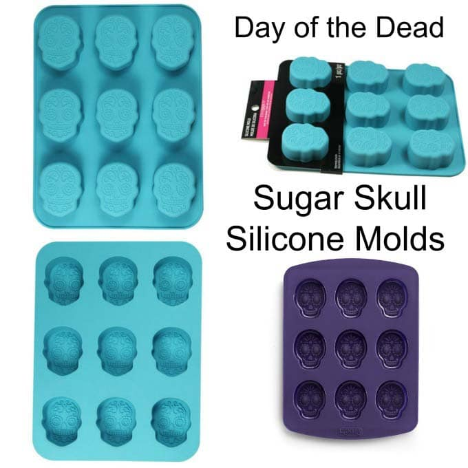 Day of the Dead Sugar Skull Silicone Molds