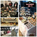 Halloween Party Decorations and Food