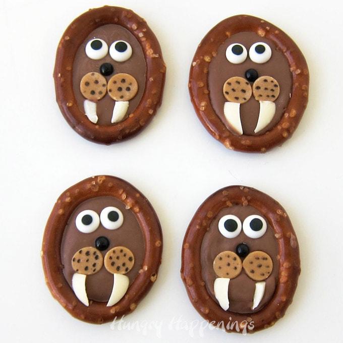 Chocolate Pretzel Walrus