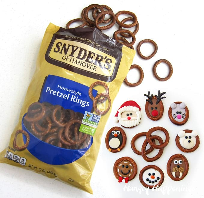 Christmas Pretzel Rings Snyder's of Hanover