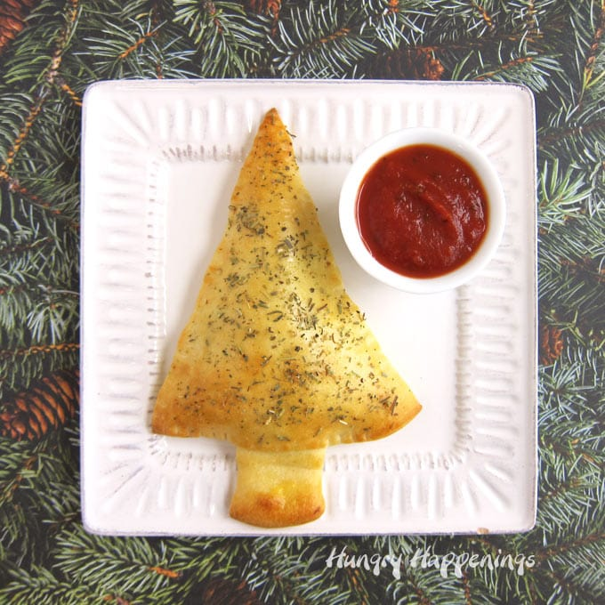 Christmas Tree Calzone