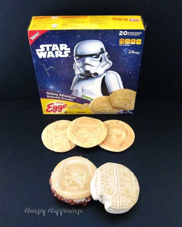 Kellogg's® Eggo® Star Wars Galaxy Adventure™ Buttermilk Pancakes - Galaxy Ice Cream Sandwiches