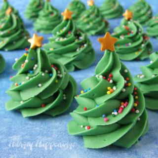 Fudge Christmas Trees