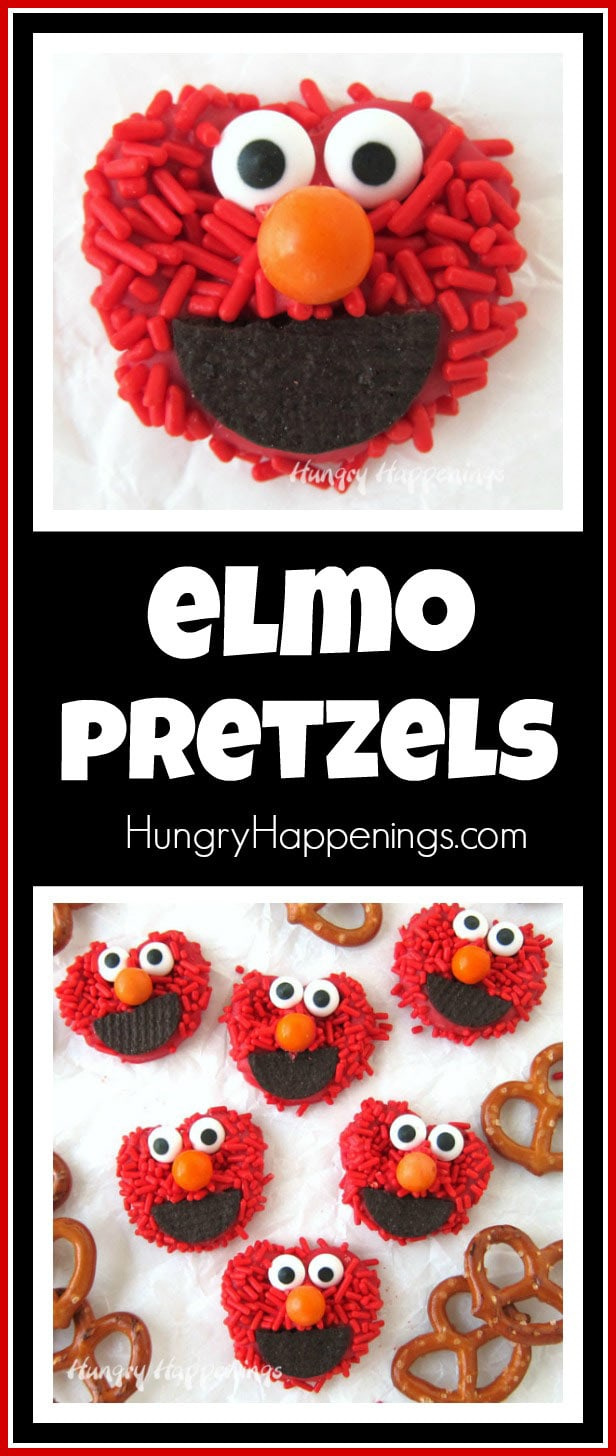 Elmo Pretzels - Fun Sesame Street Party Food