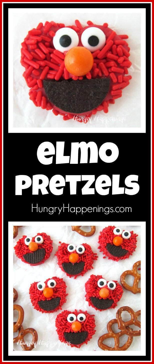 Elmo Pretzels - Fun Sesame Street Party Food