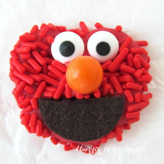 Elmo Pretzels Sesame Street Party Food