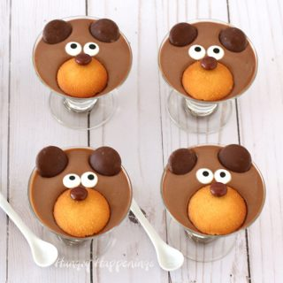 Chocolate Pudding Bears