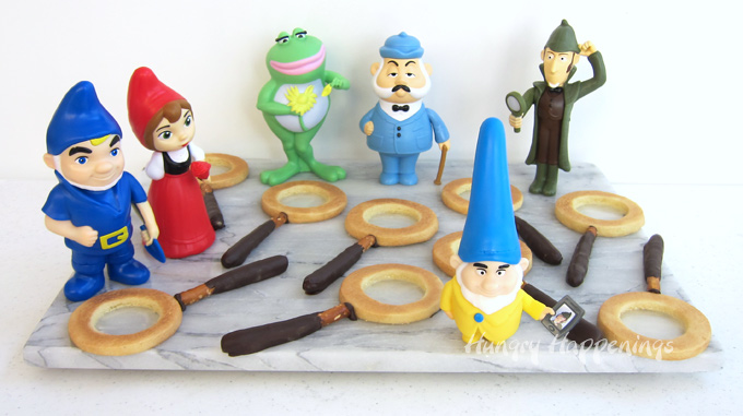Sherlock Gnomes Movie Magnifying Glass Cookies and Toys
