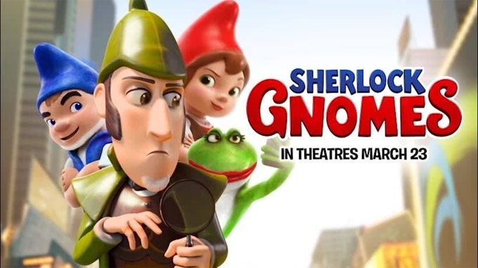 Sherlock Gnomes Movie Banner