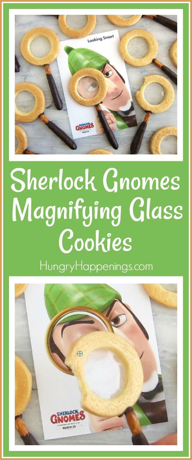Sherlock Gnomes Movie Magnifying Glass Cookie Recipe