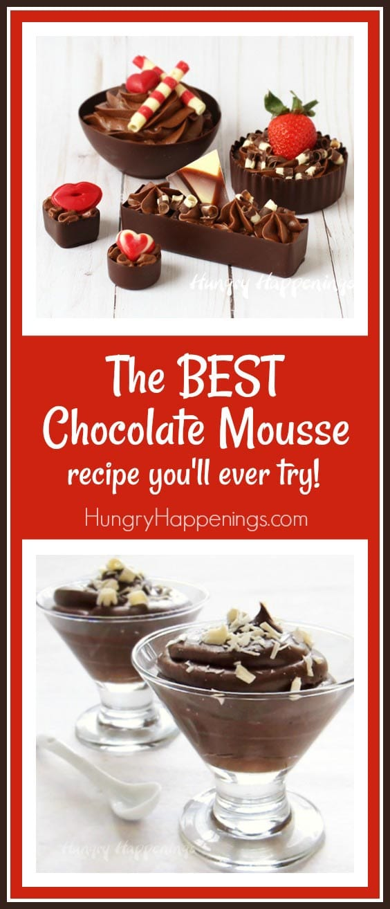 The BEST Chocolate Mousse Recipe you'll ever try!