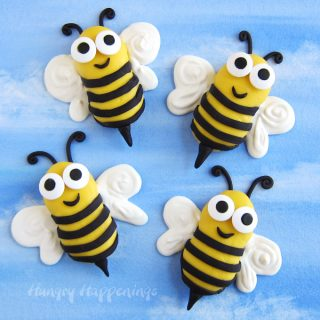 Bumble Bee Cookies Candy Melts Decorated Nutter Butter Cookies