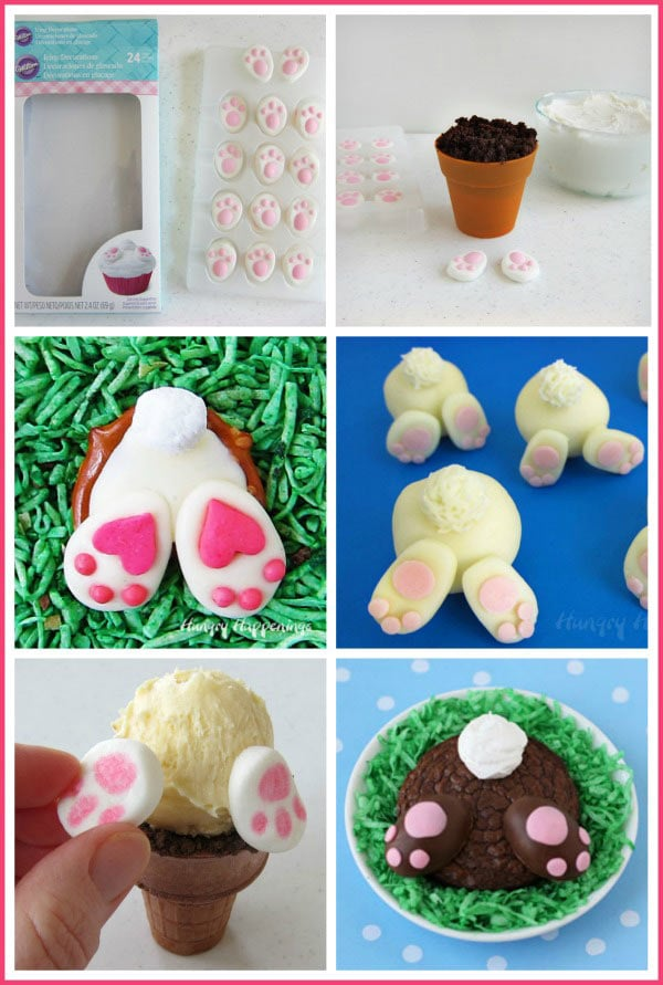 Candy Bunny Feet Look So Cute On These Easter Butt Treats