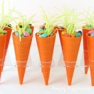 Carrot Candy Cups Filled With Your Favorite Easter Candy
