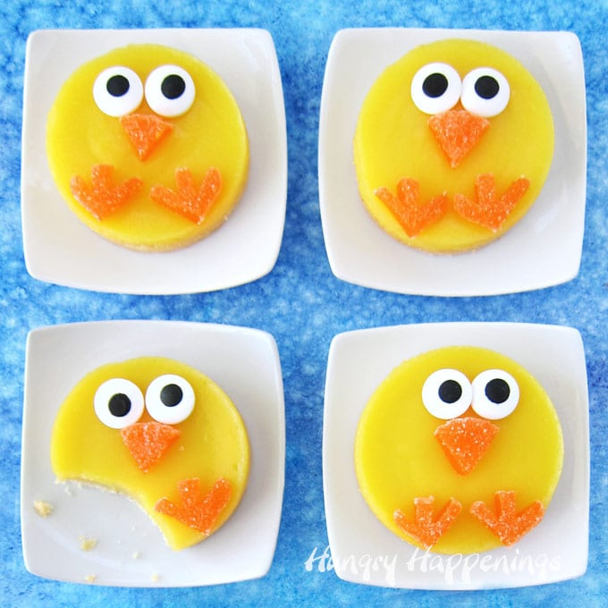 Little Lemon Bar Chicks Easter Dessert