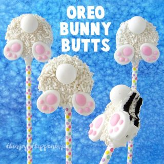 Oreo Bunny Butts Easter Cookies