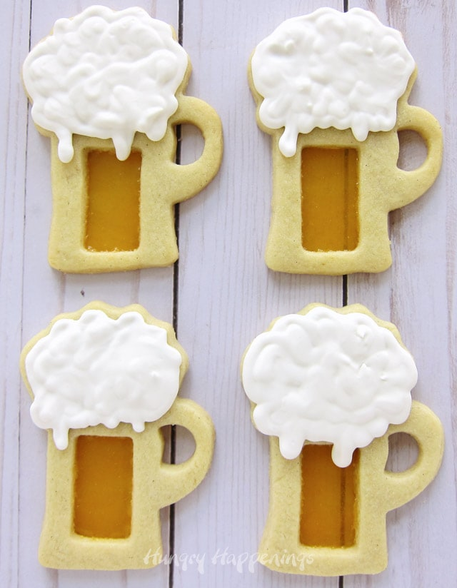 Learn how to make Butterbeer Cookies