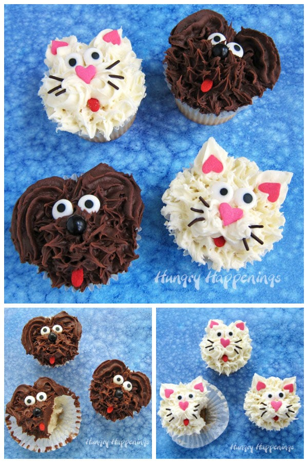 Cupcake Dogs and Cupcake Cats are super easy to decorate.
