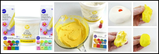 How to color frosting and modeling chocolate using Wilton's Gel Food Colors
