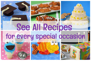 Fun food crafts and recipes for holidays and special occasions.