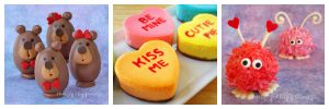 Cute recipes and food crafts for Valentine's Day