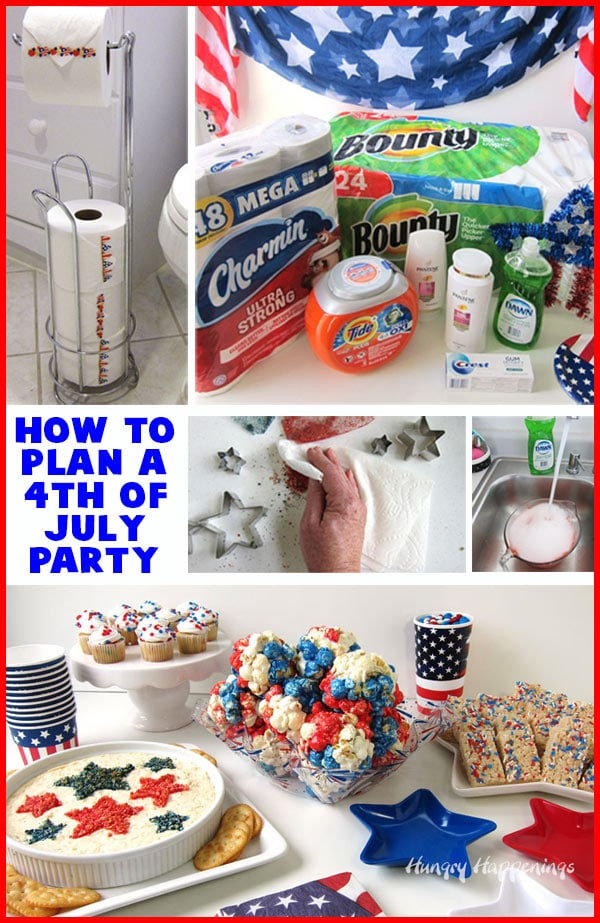 How to plan a 4th of July party with P&G.
