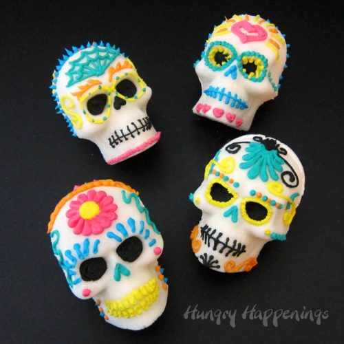 Sugar Skull Video Tutorial And Recipe Hungry Happenings