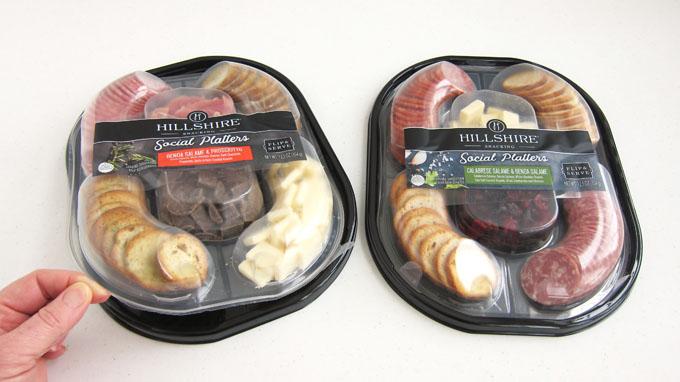 Hillshire Snacking Social Platters