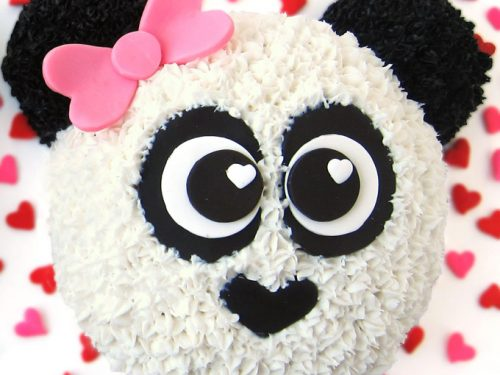 Fantastic Panda Bear Cake Recipe And Instructions Hungry Happenings Video Personalised Birthday Cards Fashionlily Jamesorg
