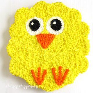 Baby Chick Cupcake Cake