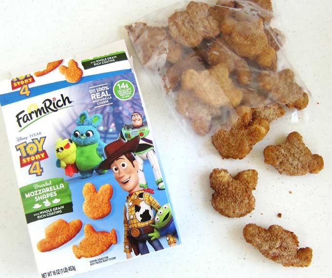 Frozen Farm Rich Disney and Pixar Toy Story 4 Mozzarella Shapes