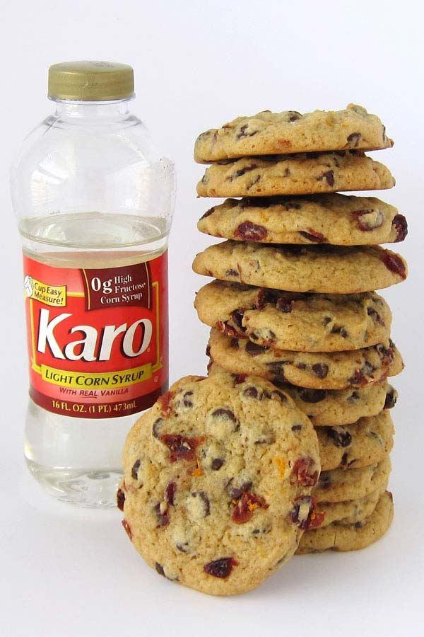 Karo® Corn Syrup makes the best, chewiest chocolate chip cookies.