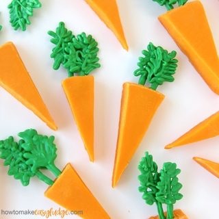 Orange Fudge Carrots for Easter
