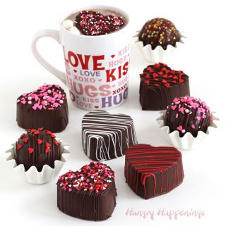 Valentine's Day Hot Chocolate Bombs