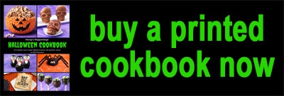buy a printed Hungry Happenings' Halloween Cookbook