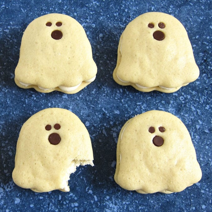 Whoopie Pie Ghosts